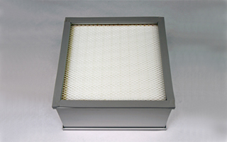 HEPA filters for cleanrooms and containment units.