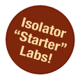 Flexible film isolator starter labs include all the hardware for gnotobiotic research.